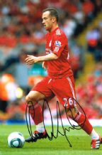 Charlie Adam Autograph Signed Photo
